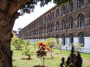 The Andaman Cellular Jail was the shadiest pri...