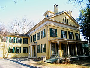 Emily Dickinson Museum, Amherst, Massachusetts...