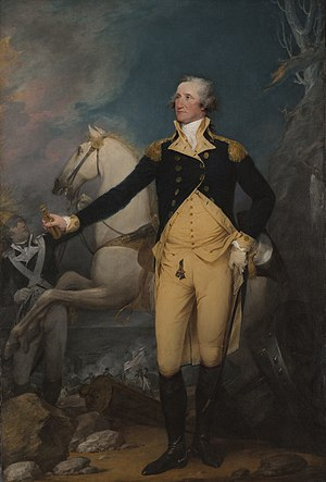 "English: ""General George Washington at Tr..."