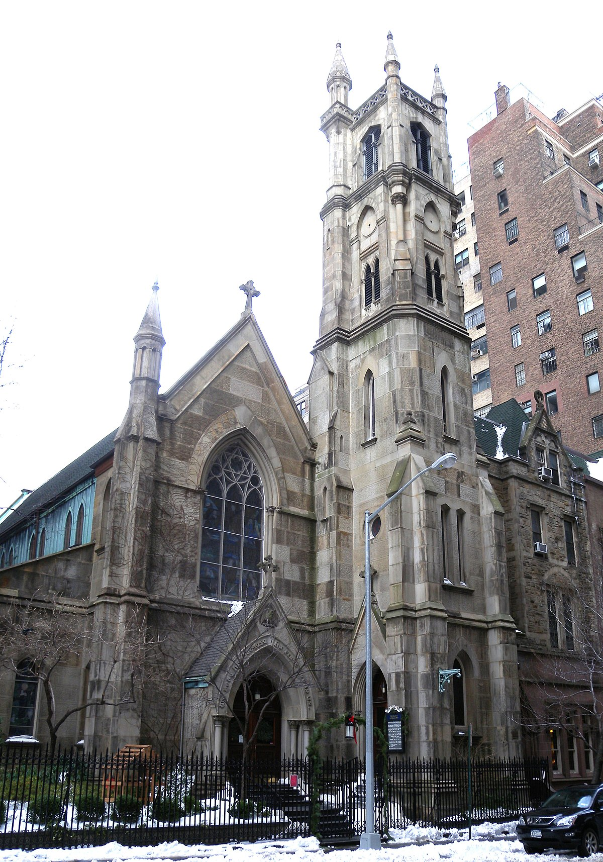 St Thomas More Church New York City Wikipedia