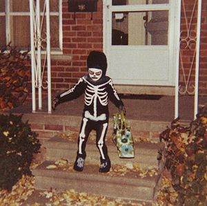 Photo of a Halloween trick-or-treater, Redford...