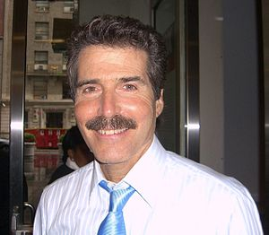 English: Journalist John Stossel, outside Fox ...