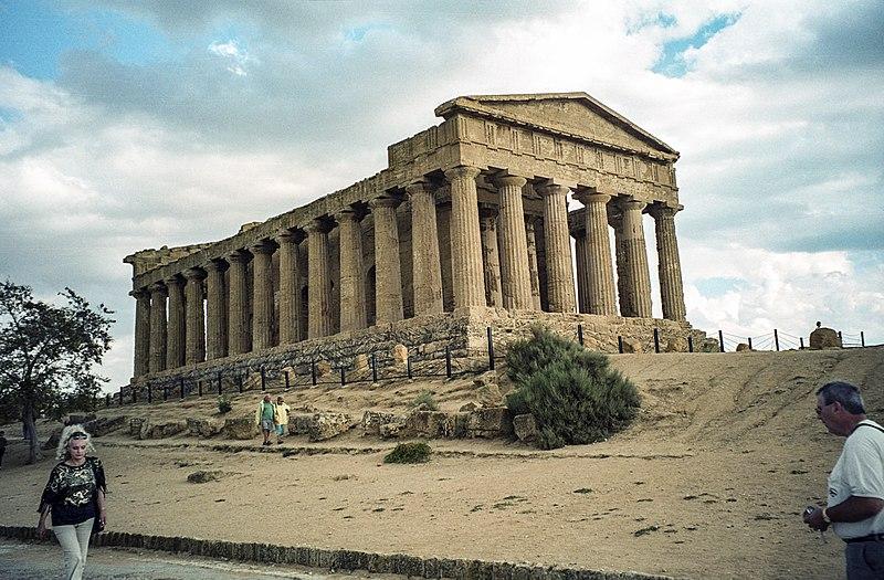 Archaeological Area of Agrigento, Temple of Concordia (by Jerzy Strzelecki)