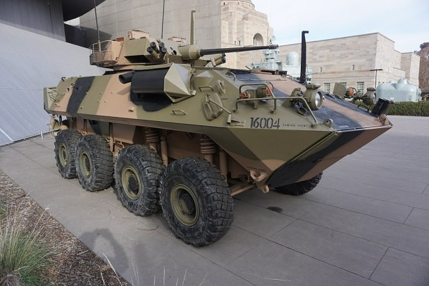 Australian War Memorial - Joy of Museums - LAV-25 Australian Light Armoured Vehicle 2