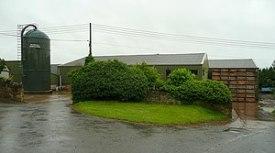 English: Ballingham Hall Farm An arable enterp...