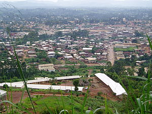 Bamenda, the capital of the North West Provinc...