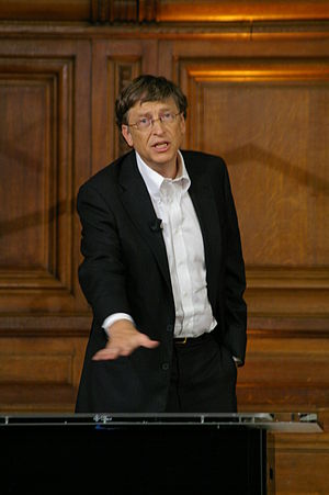 Bill Gates at Sorbonne 4