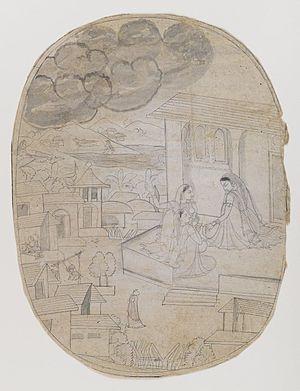 Brooklyn Museum - Illustration of Unidentified...