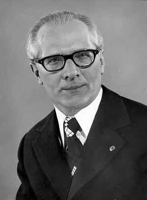Erich Honecker - Vorsitzender des Nationalen Verteidigungsrates der Deutschen Demokratischen Republik