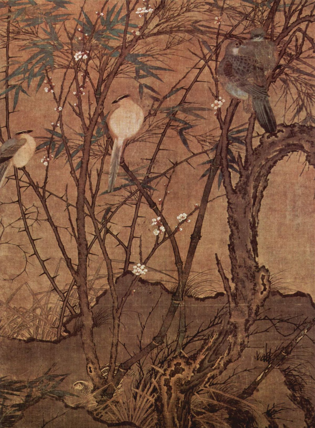 Lotus Lotos Chinesische Japanische Tusche Malerei Kalligraphie