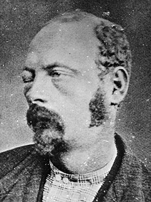 Cole Younger's mugshot