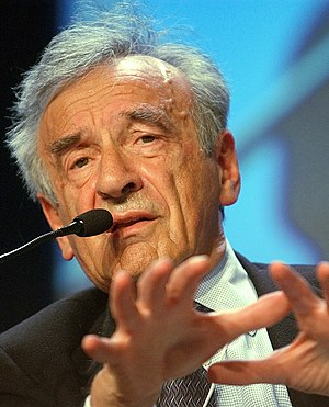 DAVOS,28JAN03 - Elie Wiesel, Professor of the ...