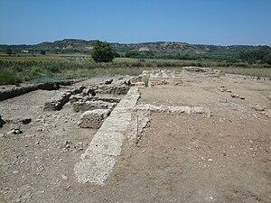 English: A view of the Agora