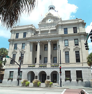 : Savannah Historic District: City hall