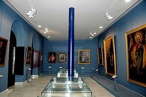 Sala artística y documental- Museo Aguilar y E...