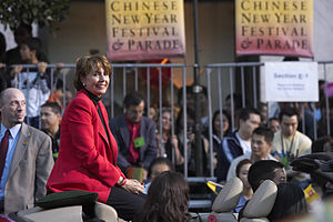 Congresswoman Nancy Pelosi at San Francisco's ...