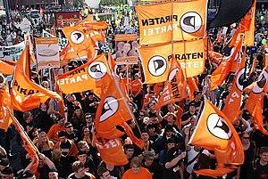 Deutsch: PIRATEN bei der Freiheit statt Angst ...