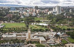 Parliament Buildings and Uhuru Park, Nairobi