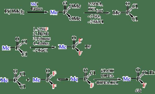 "An example of ""di-di"" process using arbitrary reagents."