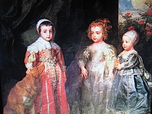 The Three Eldest Children of Charles I (Charle...
