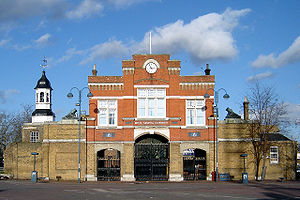 """Woolwich Royal Arsenal Gatehouse"""