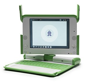 English: XO, Children's Machine, OLPC, $100 la...
