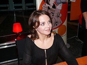 Singer Annett Louisan at Liederhalle, Stuttgar...