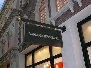 Banana Republic Venetian Hotel Las Vegas July 2009