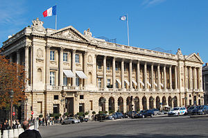 "English: ""Hotel Crillon"", ""Plac..."