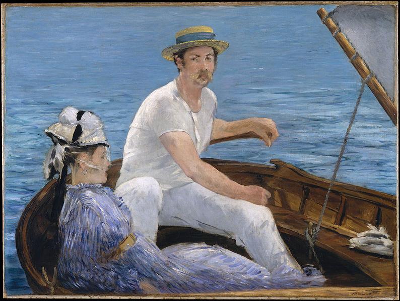 File:Edouard Manet Boating.jpg