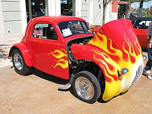 Fiat Topolino hot rod
