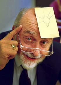 English: Arthur Fry, inventor of the Post-it N...