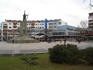 The town of Kraljevo, Serbia/La ville de Kralj...