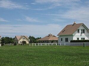 Houses in Maharishi Vedic City, Iowa