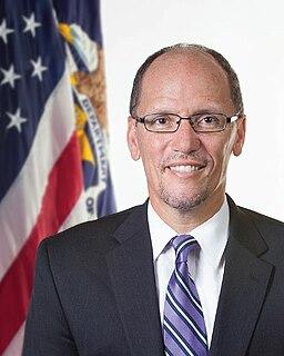 Official portrait of United States Secretary of Labor Tom Perez