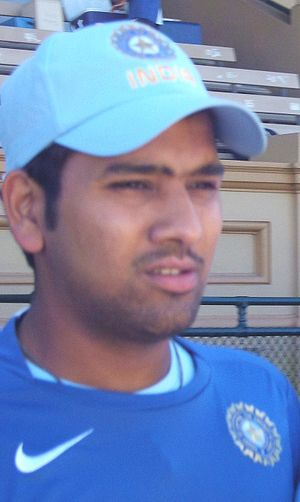 Rohit Sharma at Adelaide Oval