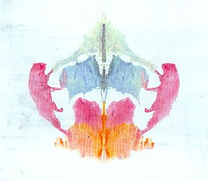 the eighth blot of the Rorschach inkblot test