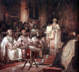 Second Ecumenical council by V.Surikov.jpg