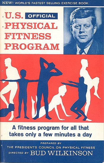 U.S. Physical Fitness Program Exercise Book??s Front Cover