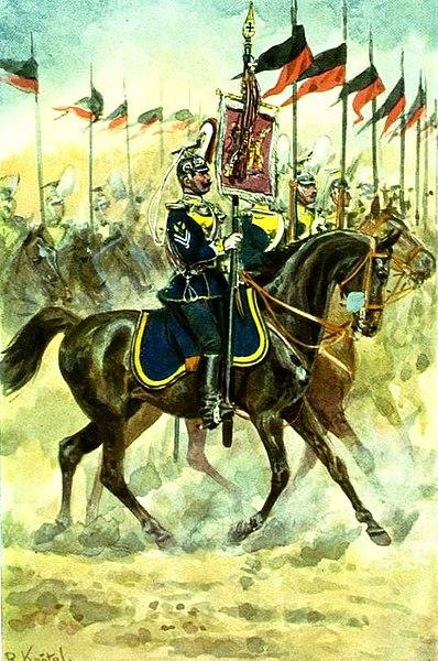 Ulanenregiment König Wilhem I. (2.Württ.) Nr. 20 - via Wikipedia
