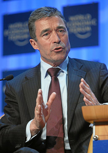 Anders Fogh Rasmussen, Prime Minister of Denma...