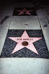 Bob Marley tiene su propia estrella en Paseo de la Fama de Hollywood.