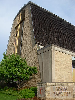 Christ United Methodist Church in Rochester, M...
