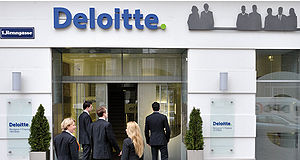 English: Office Deloitte Vienna Deutsch: Bürog...