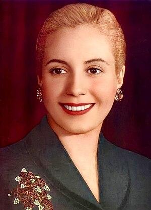 English: Eva Perón (1919-1952) Español: Eva Pe...