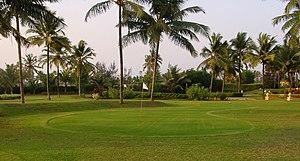golfveld / golf course (Photo taken in Goa, India)