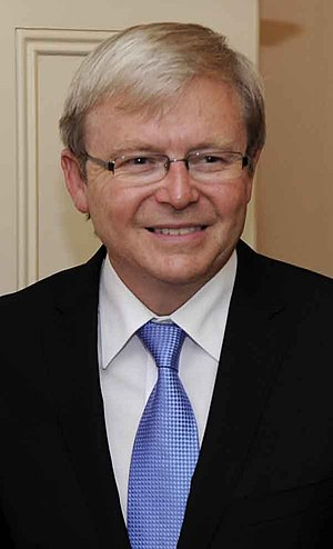 English: Kevin Rudd, Australian politician