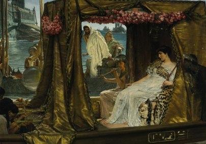 Antony & Cleopatra by Lawrence Alma-Tadema
