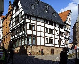 Marburg, Hirschberg 13, ist das älteste Fachwe...