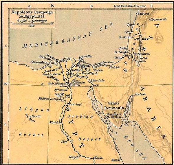 Napoleons Campaign in Egypt 1798